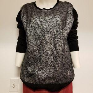 Nwt Black sweater by Black Rivet sz XL